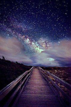 Galaxic sky