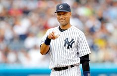 "Derek Jeter Announces Retirement From Baseball After 2014 Season: New York Yankees Captain Decided ""Months Ago"" Damn Yankees, Yankees Fan, New York Yankees, Yankee Stadium, Derek Jeter, Baseball Players, Baseball Cards, Baseball Wall, Saints"