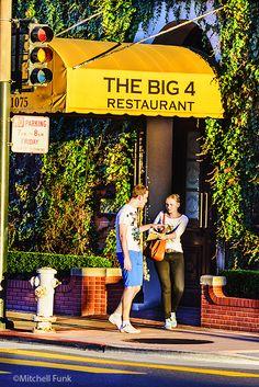 The Big 4 Restaurant On Nob Hill,San Francisco By Mitchell Funk www.mitchellfunk.com