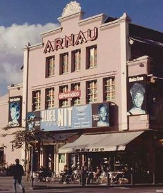 Teatre Arnau al Paral.lel de Barcelona.