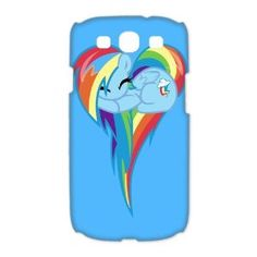 Amazon.com: Custombox Rainbow Dash Samsung Galaxy S3 I9300 Case Hard Case Plastic Hard Phone Case-Samsung Galaxy S3-DF00913: Cell Phones & Accessories