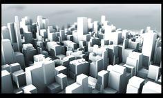 Simple 3D city