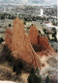 Montezuma Tower, North Ridge, Garden of the Gods, CO