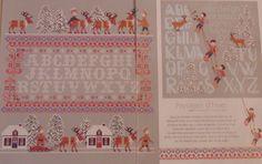 A Mon Ami Pierre - winter landscape - 2 designs - cross stitch Chart US487