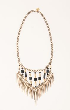 NECKLACE W SPIKES