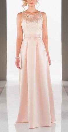 Floor Length Bridesmaid Dress