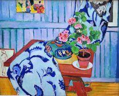 H. Matisse - Nature morte avec géranium, (1910) Neue Pinakothek Munich
