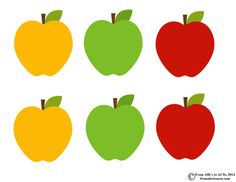 Apples Letter Sorting Printable for Preschoolers Color Activities, Toddler Activities, Kindergarten Learning, Preschool, Mini Apple, A Is For Apple, Apple Back To School, Classroom Tree, Letter Sorting