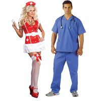 Doctor & Nurse Couples Costumes