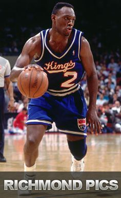 """Kings Legends: Mitch """"The Rock"""" Richmond - In 1991, Richmond was traded to the Kings after three seasons with the Golden State Warriors. He was selected as an All-Star in 1995 and went on to secure MVP honors - the first and only time a Kings player has earned the award. Richmond is an Olympian, All-Star, MVP, Champion and Sacramento legend."""