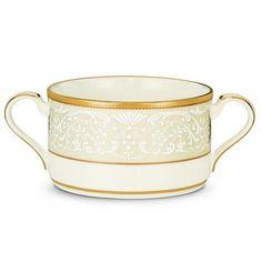 Noritake White Palace 10.25 oz. Soup Cup (Set of 4)