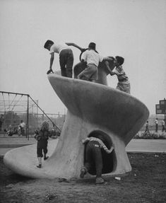 Concrete Playforms, Philadelphia, 1954   Playscapes