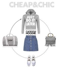 """Freetime in greyscale"" by trendcrossing ❤ liked on Polyvore featuring WearAll, Topshop and Y.R.U."