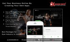 We have BEST OFFER for your Gym Industry. In Just 2000$ we are providing these solution