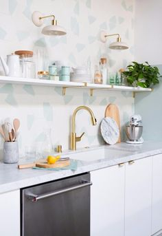 Kitchen love (mint green)
