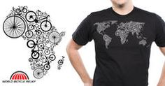 """World of Bike"" - Threadless.com - Best t-shirts in the world"