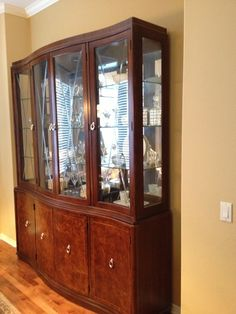 China Cabinet Thomasville Bogart Bel Air And Dining Table Chairs