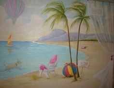 Ocean and Surf Baby's Room Ideas | Baby Nursery Decorating Ideas ...