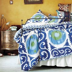 Bed Linen Ideas | Decorating With Blue | Colour Scheme Ideas | Decorating Ideas | Red Online