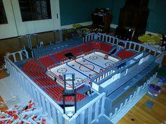 lego hockey rink - Google Search