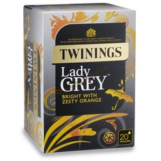 Twinings Lady Grey Envelope Tea (20)