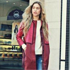 Lululemon Berry Pink Car Coat  Lululemon Coat- NWOT. Never worn. Such a cute coat, just really don't need it. NO TRADES! lululemon athletica Jackets & Coats