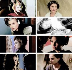 Padme Amidala~daughter, queen, angel, friend, fighter, senator, lover, wife, partner, mother~a woman of hope
