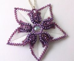 Загогулинка-цветок | biser.info - всё о бисере и бисерном творчестве