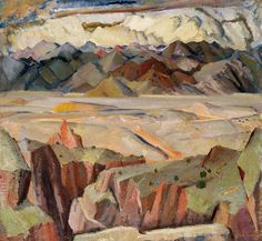 mountains and valleys 1921 William Victor Higgins (1884 - 1949)
