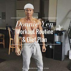 Donnie Yen Workout Routine