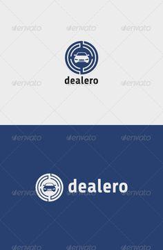 Dealero Logo — Vector EPS #website #showroom • Available here → https://graphicriver.net/item/dealero-logo/8609470?ref=pxcr