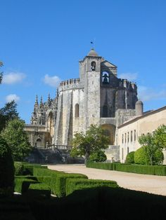 Convent of Christ Castle, Tomar, Portugal - Built in 1160 as a stronghold for the Knights Templar, it became the headquarters of the renamed Order of Christ. In 1983, it was named a UNESCO World Heritage Site.