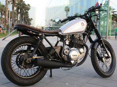 Yamaha Sr 250 Cafe Racer by Molitery Design
