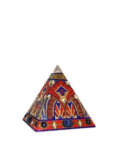 Austrian Crystal Pyramid Clutch Bag by Judith Leiber at Bergdorf Goodman. Novelty Handbags, Purses And Handbags, Vintage Purses, Vintage Handbags, Unique Purses, Unique Bags, Judith Leiber, Beautiful Bags, Beautiful Things
