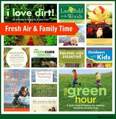 Fresh Air and Families: Books to Inspire Time Outside