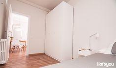 #proyectosantalo #iloftyou #interiordesign #ikea #barcelona #lowcost #bedroom #pax #tral #selje