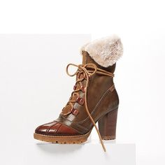 Like duck boots only FABULOUS!
