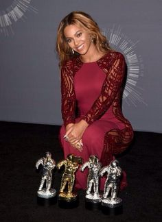 Beyonce at The 2014 Mtv Video Music Awards Press Room