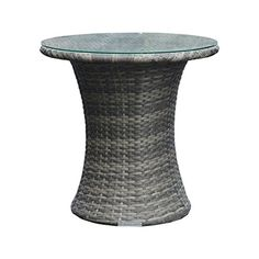 Find This Pin And More On Rattan Tables Grey All Weather Synthetic Outdoor