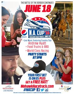 June 2016 at the Mohawk Racetrack! Race Party, June 18th, Local Events, Community Events, Pepsi, Live Music, North America, Fun, Lol