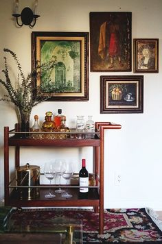 Candace's Old World Meets French Deco Apartment — House Call | Apartment Therapy