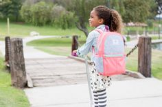 It's (almost!) time to get back to school, and our Kid's Backpacks, made in collaboration with STATE Bags, are perfect for every academic adventure! For each backpack made available on Honest.com, one will be hand-delivered to a child in need. | Honest Kid's Backpack in Coral, collaboration with STATE Bags