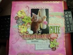 Scrapbook page by Angela Bolton.  See more work at http://mypumpkindays.blogspot.com.au/