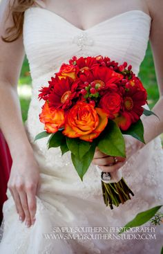 fall bridal bouquet, almost what I had in mind