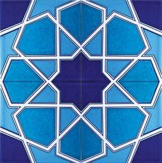 Iznik tegels Tegel - Aniky Architectuur Islamic Patterns, Geometric Drawing, Turkish Tiles, Islamic Art, Sculpture Art, Geometry, Arts And Crafts, Rugs, Drawings