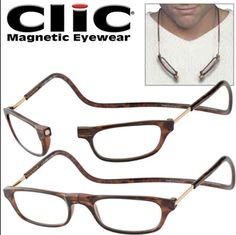 a21263228ec Clic magnetic reading frames Reading Glasses