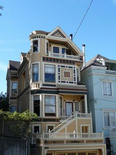Victorian home in San Francisco, Ca