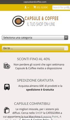 www.capsuleandcoffee.com  www.capsuleandcoffee.com ☕️❤️📲 #SPEDIZIONE #GRATUITA IN TUTTA ITALIA se acquisti almeno 60 Euro di prodotti ( ⚡🚚️⚡️In 24h a casa tua dal momento dell'acquisto⚡️🚚⚡️) #capsuleandcoffee #glispecialistidelcaffe #capsule #cialde #caffé #compatibili #instacoffee #caffeine #instacool #picoftheday #ecommerce #shopping #shoppingonline #italia