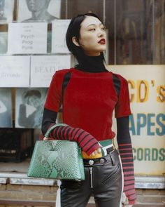 906a2da182e Korean model Sora Choi on why the Louis Vuitton Capucines bag is a chic  counterpoint to her personal style