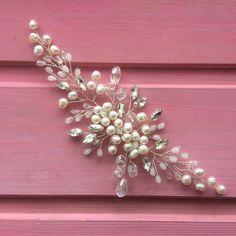 Hair Comb Wedding, Wedding Hair Pieces, Headpiece Wedding, Diy Pearl Hair Accessories, Wedding Hair Accessories, Hair Beads, Bandeau, Hair Jewelry, Instagram